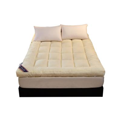 【北极绒】加厚立体羽丝绒床垫榻榻米床垫1.8m米1.5m床单双人床褥学生垫被子