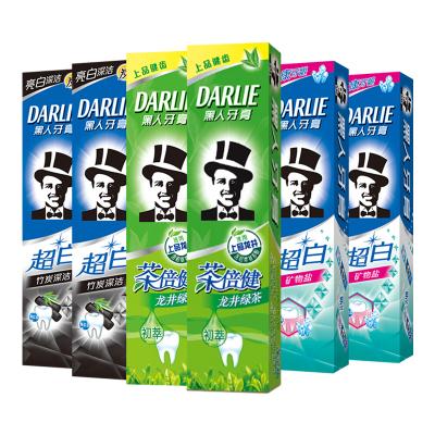黑人(DARLIE)牙膏组合装140*6
