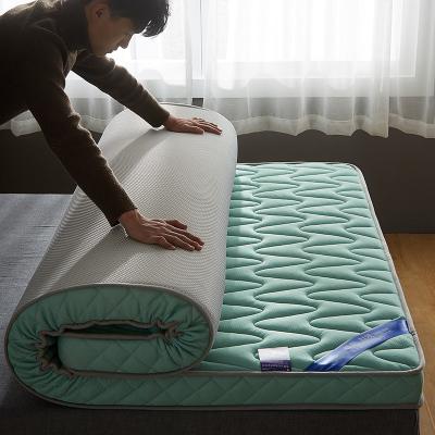 北极绒乳胶床垫加厚软垫榻榻米床褥子单人宿舍垫被双人家用海绵垫