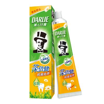 黑人(DARLIE)茶倍健杭菊龙井牙膏 140g