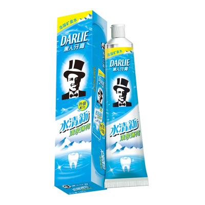 黑人(DARLIE)水清新清泉薄荷牙膏 140g