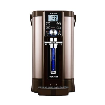 奥克斯(AUX) 电热水瓶 HX-8530F 双模煮水 5L大容量 多段调温 全自动保温家用烧水壶恒温一体开水瓶电水壶