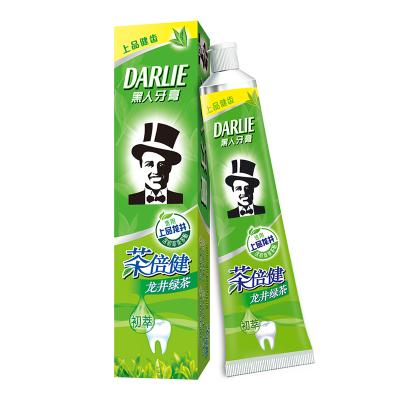 黑人(DARLIE)茶倍健龙井绿茶牙膏 140g