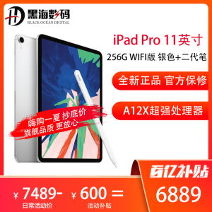 Apple iPad Pro 11英寸 256GB WIFI版 银色 平板电脑 +Apple Pencil 二代