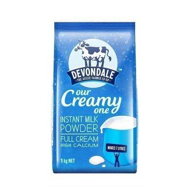 48.8元包邮 德运(Devondale)全脂高钙成人奶粉 1000g/袋