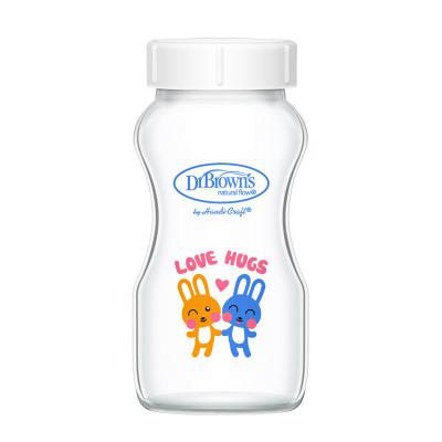 【可替换瓶身 单个装】布朗博士宽口玻璃储奶瓶储物瓶 晶彩版270ml 适用爱宝选/PLUS系列