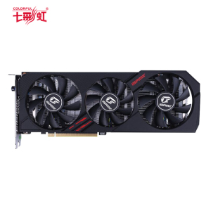 七彩虹(Colorful)iGame GeForce RTX 2060 Ultra GDDR6 6G电竞游戏显卡(1365(Bst:1755)MHz/1365(Bst:1680))