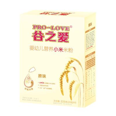 谷之爱冲乳小米米粉原味225克营养辅食 婴儿米粉