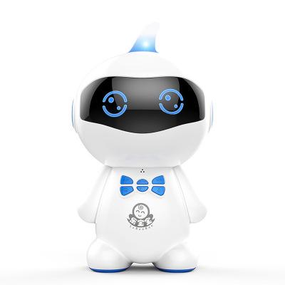 小琪XIAOQI U9机器人PVC小豆芽智能WIFI对话高科技语音男女孩儿童教育学习早教机 蓝色