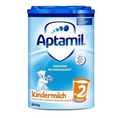 (新包装)Aptamil 德国爱他美 本土版 婴幼儿配方奶粉 2+段(2岁以上)800g/盒 21年11月