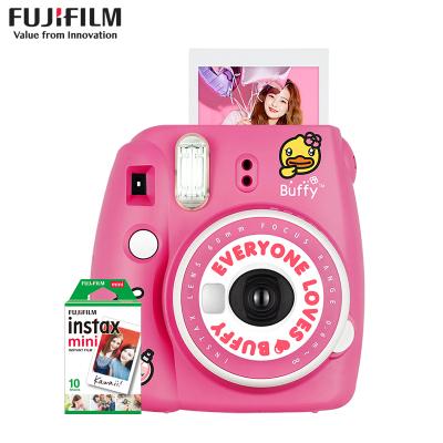 富士(FUJIFILM)INSTAX 一次成像相机立拍立得 mini9鸭妹妹buffy相机 套餐一(含10张相纸)