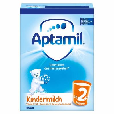Aptamil 德国爱他美 本土版 婴幼儿配方 奶粉 2+段 600g 2岁以上 21年4月
