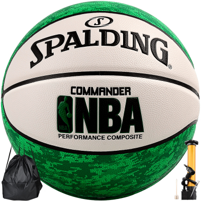 斯伯丁(SPALDING)篮球迷彩室内外7号PU标准通用篮球74-936Y/937Y