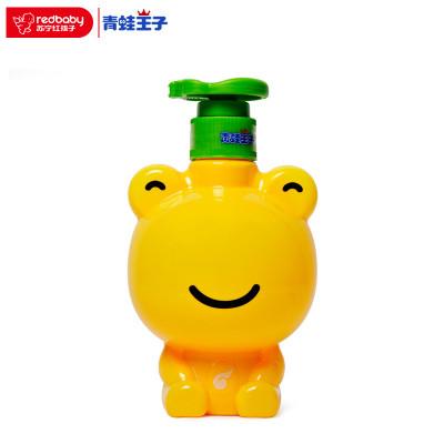 青蛙王子儿童洗手液幼儿专用泡沫便携瓶装清洁杀菌家用宝宝洗手液清爽洗手液(柠檬型)320ml