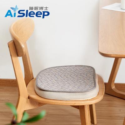睡眠博士(AiSleep) 藤席硅胶坐垫 慢回弹减压护臀办公室坐垫 夏凉垫子 汽车坐垫