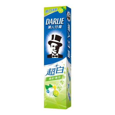 黑人(DARLIE)超白青柠薄荷牙膏 140g