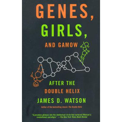 GENES, GIRLS, AND GAMOW(ISBN=9780375727153) 英文原版