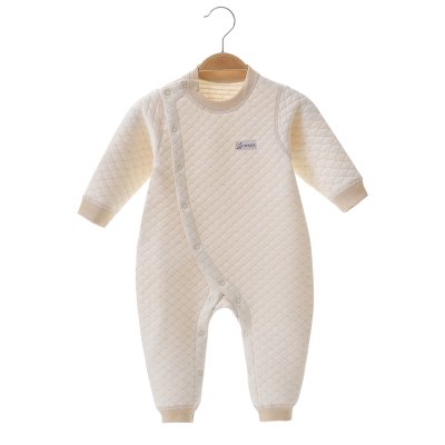 亿婴儿 婴儿连体衣秋冬保暖内衣加厚彩棉新生儿衣服初生内衣宝宝爬服哈衣2278