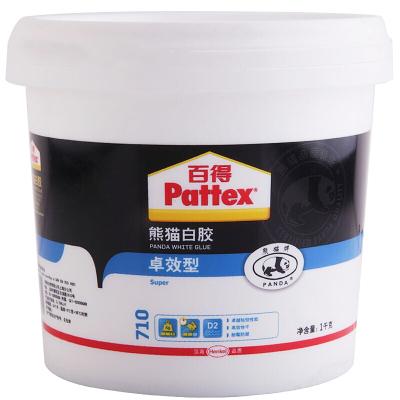 汉高百得(Pattex) 熊猫白胶 多功能白乳胶 手工木工白胶 耐霉防水环保型 快干木板胶 粘接力强 卓效型 1kg