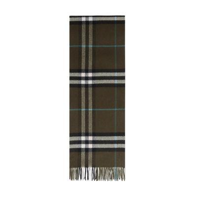 BURBERRY 博柏利 男女通用款经典格纹羊绒围巾 80047021