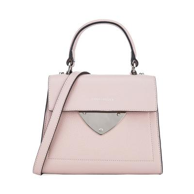 COCCINELLE/可奇奈尔B14系列女士牛皮时尚手提单肩包E1C05557701P03烟粉色P08