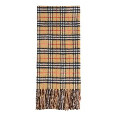 BURBERRY 博柏利 男女通用款VINTAGE格纹羊绒围巾 40688711
