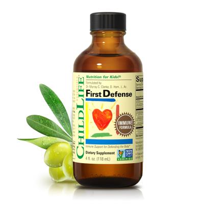 美国童年时光 婴幼儿儿童 维生素营养品 防御液118ML*1瓶装 6个月-12岁