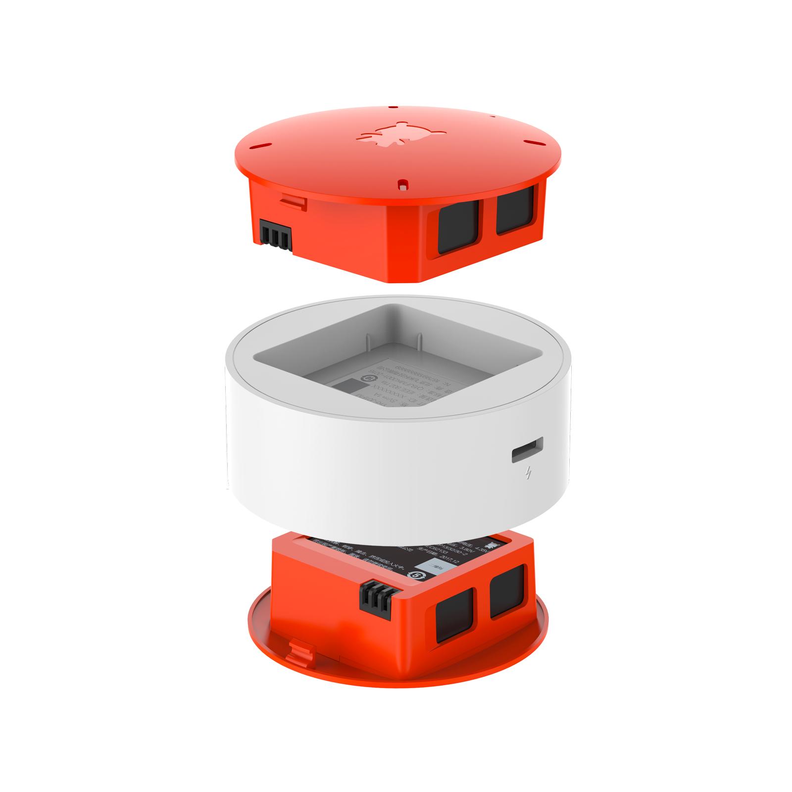 米兔遥控小飞机座充电池套装