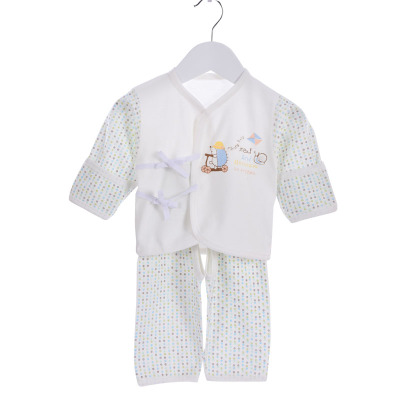 亿婴儿 婴儿衣服新生儿系带和尚服套装春秋季纯棉宝宝初生内衣套装2013