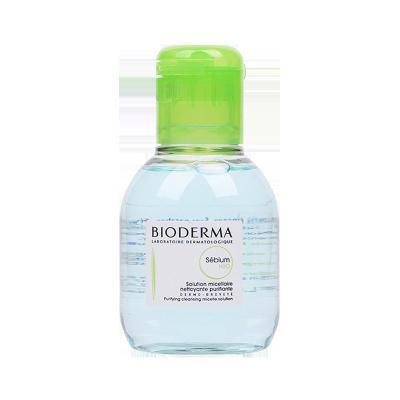 法国Bioderma 贝德玛净妍卸妆水绿水100ml温和清洁 化妆水 清爽控油