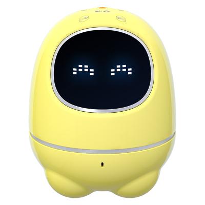 科大讯飞(iFLYTEK)智能机器人 阿尔法蛋超能蛋儿童教育陪伴益智玩具语音控制 TYMY1 黄色 PVC 翻译蛋